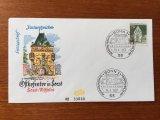 ドイツ FDC 1967年 Soest Westfalen
