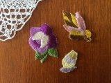 東ドイツのワッペンセット 紫